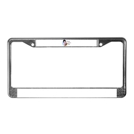 Jesus Loves Me License Plate Frame