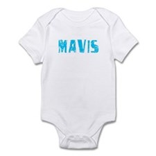 Mavis Faded (Blue) Infant Bodysuit