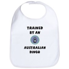 Trained by a Dingo Bib
