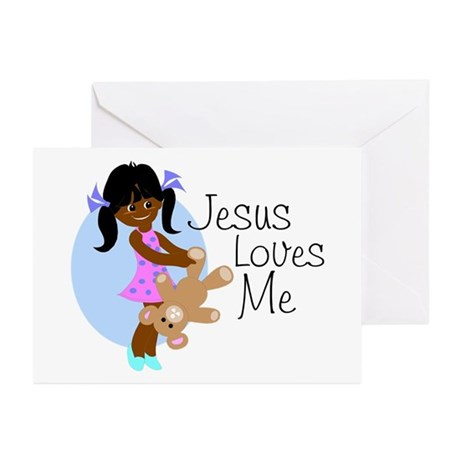 Jesus Loves Me Greeting Cards (Pk of 10)