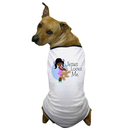 Jesus Loves Me Dog T-Shirt
