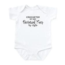Crochet Devoted Mom Infant Bodysuit