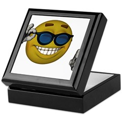 Hot Smiley Keepsake Box