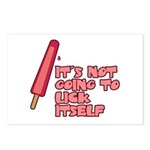 It's Not Going to Lick Itself Postcards (Package of 8)