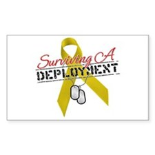 Surviving A Deployment Rectangle Decal
