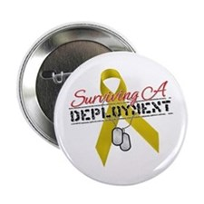 "Surviving A Deployment 2.25"" Button"