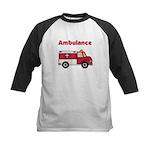 Ambulance Kids Baseball Jersey