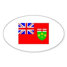Canada - Ontario Oval Decal