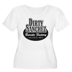 Dirty Sanchez Burrito Factory Women's Plus Size Sc
