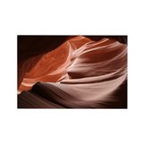 Utah - Antelope Canyon Rectangle Magnet