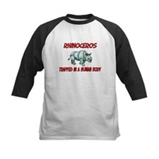 Rhinoceros trapped in a human body Tee