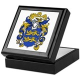 Barry Family Crest Keepsake Box