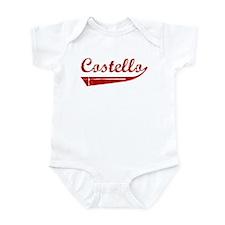 Costello (red vintage) Infant Bodysuit