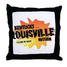 Kentucky Louisville Mission Throw Pillow
