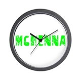 Mckenna Faded (Green) Wall Clock