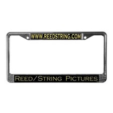 Unique Reed License Plate Frame