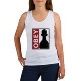 OBEY. Like a pawn. Women's Tank Top