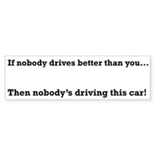 Nobody drives