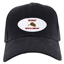 Muskrat trapped in a human body Baseball Hat