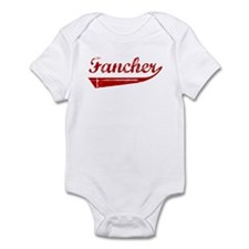 Fancher (red vintage) Infant Bodysuit