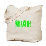 Miah Faded (Green) Tote Bag