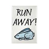 Run Away! Rectangle Magnet