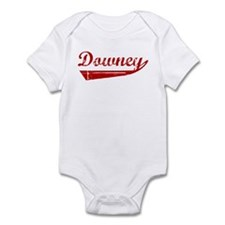 Downey (red vintage) Infant Bodysuit