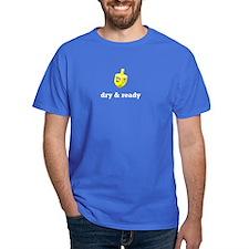 dry & ready Blue T-Shirt