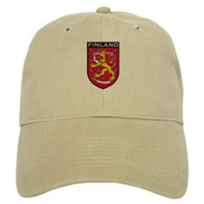 Finland Coat of Arms Baseball Cap