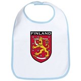Finland Coat of Arms Bib