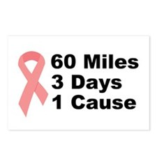 3 Days 60 Miles 1 Cause Postcards (Package of 8)