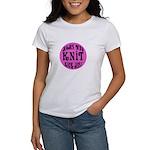 Moms Who Knit Kick Ass Women's T-Shirt