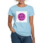 Moms Who Knit Kick Ass Women's Light T-Shirt