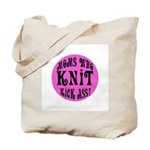 Moms Who Knit Kick Ass Tote Bag