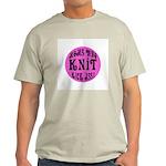 Moms Who Knit Kick Ass Light T-Shirt