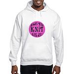Moms Who Knit Kick Ass Hooded Sweatshirt