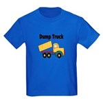 Dump Truck Kids Dark T-Shirt