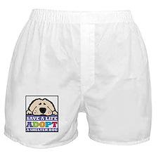 Save a Life Boxer Shorts