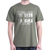Finland Suomi Flag T-Shirt