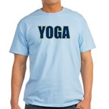 Yoga Varsity Letters Navy Blue T-Shirt