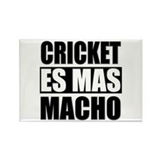 Cricket Es Mas Macho Rectangle Magnet