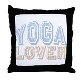 Yoga Lover Throw Pillow