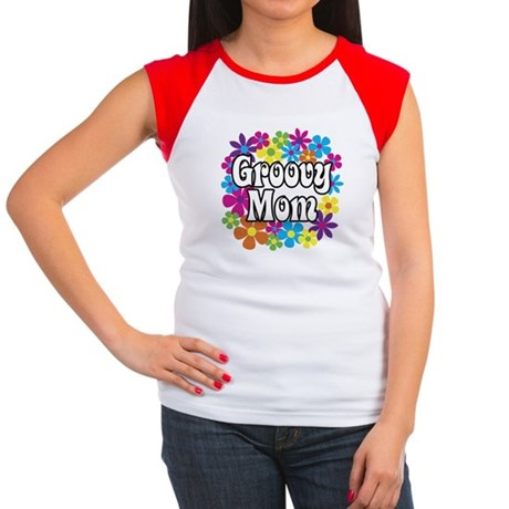 Groovy Mom Women's Cap Sleeve T-Shirt