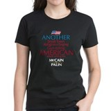 Small Town American for McCain Palin Tee