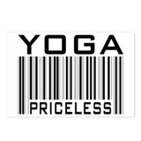 Yoga Priceless Bar Code Postcards (Package of 8)