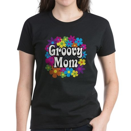 Groovy Mom Women's Dark T-Shirt