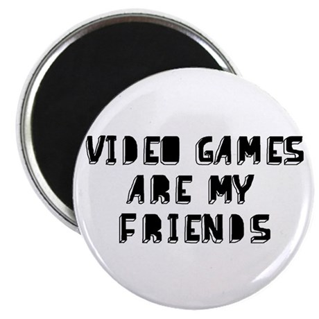 Video Game Friends Magnet