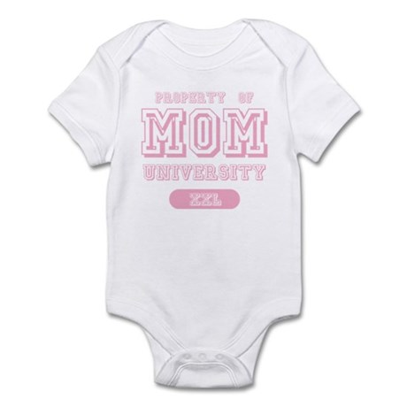 Property of Mom University Infant Bodysuit