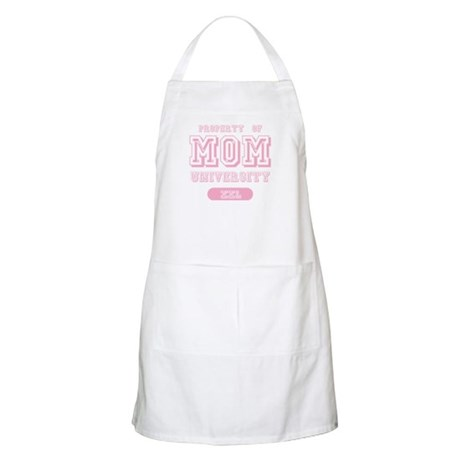 Property of Mom University BBQ Apron