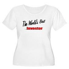 """The World's Best Investor"" T-Shirt"